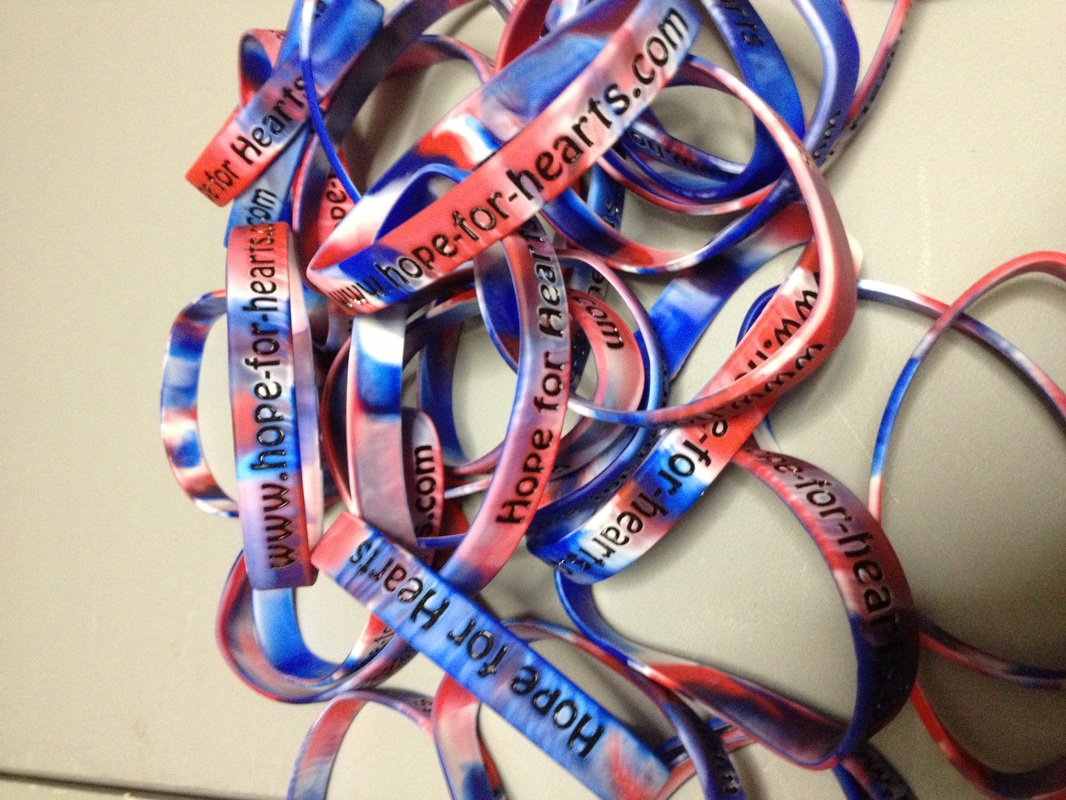 Purchase Hope For Hearts Awareness Bracelets